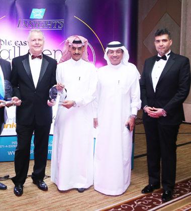 Senior Executives of Smartlink with the award